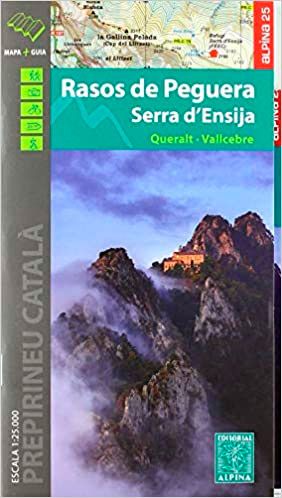 comprar mapa alpina Rasos de Peguera