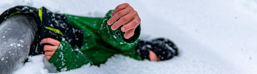 guantes de nieve para niñas
